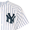 Majestic New York Yankees Home Replica Jersey Blanc/Bleu marine