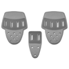 Riddell 3PC Hip Pad Set Slot