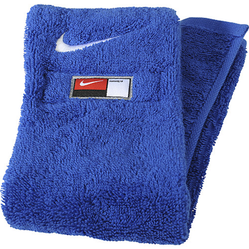 Nike Serviette de Football Bleu Roy