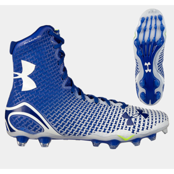 Under Armour/Highlight MC Football Cleats White/Royal