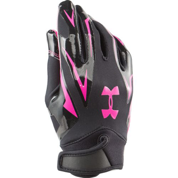 Under Armour F4 Receiver glove Black/Pink