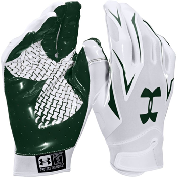 Under Armour F4 Receiver glove White/Green