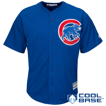 Majestic MLB Chicago Cubs Cool Base Alternate Jersey