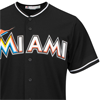 Majestic Miami Marlins Cool Base Black Alternate Jersey