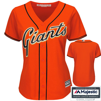 Majestic San Francisco Giants Women's Cool Base® Alternate Jersey