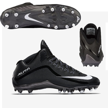 new arrival df7a3 c3672 (124.17 € hors CE) · Nike Alpha Pro 2 3 4 TD Black or Silver