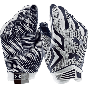 Under Armour Swarm receiver Football glove Navy