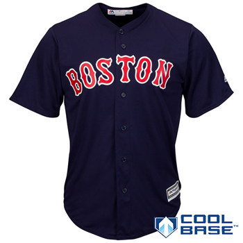 Majestic MLB Boston Red Sox 2015 Cool Base Alternate Road Jersey
