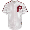 Majestic Philadelphia Phillies Cooperstown Cool Base® 1980 White Jersey