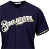 Majestic Milwaukee Brewers 2015 Cool Base Alternate Jersey