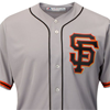 Majestic San Francisco Giants Cool Base road Jersey