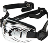 Under Armour ArmourChrome(TM) ChinStrap Adult Chrome silver