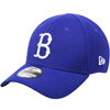 New Era MLB Brooklyn Dodgers 39Thirty Cooperstown Classic Blue Flex Hat