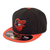 New Era Baltimore Orioles  Authentic  On Field Road 59FIFTY