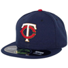 New Era Minnesota Twins Alternate  Authentic On Field (Navy/Red)  59FIFTY