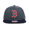 New Era MLB Boston Red Sox Heather Graphite Field Snapback 9Fifty
