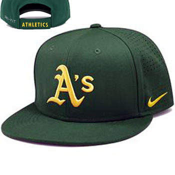 Nike MLB Oakland Athletics Dri-Fit Vapor True Cap 1.4