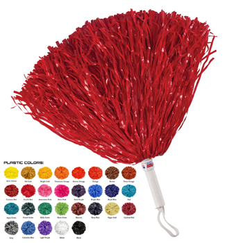 Pepco Narrow Cut Poms P45 - 3,000 Streamers (12inch) Solid Color