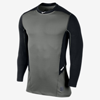 Nike Pro Hyperwarm Light Fitted Crew Black