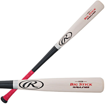 Rawlings R325B Big Stick Lite ASH Red Gripped Baseball Bat (-3)