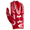 Under Armour F5 Mens Football Glove Rouge/Blanc 1271183-600