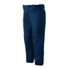 Mizuno Womens Select Belted Low Rise Pant navy