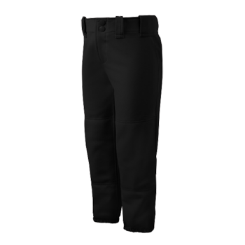 Mizuno Womens Select Belted Low Rise Pant Black