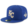 New Era Kansas City Royals New Era Royal Authentic Collection On Field Opening Day 59FIFTY Fitted Hat