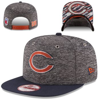 more photos 571d6 bba7c New Era Chicago Bears 2016 NFL Draft 9FIFTY Original Fit Snapback Cap