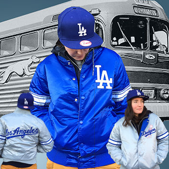 Starter MLB Los Angeles Dodgers Reigning Champ Reversible Starter Jacket