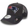 New Era New England Patriots Heather Team Trucker