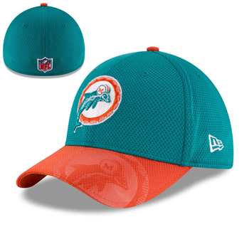 New Era Miami Dolphins 2016 Official NFL Sideline 39THIRTY
