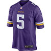 Nike Maillot Minnesota Vikings Teddy Bridgewater Nike Purple Game Jersey
