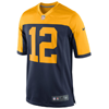 Nike Green Bay Packers Aaron Rodgers Nike Navy Alternate Game Jersey