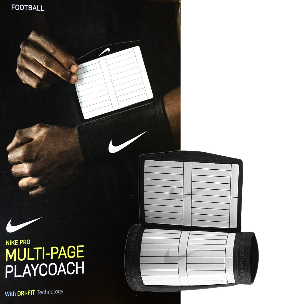 Nike Pro-Combat Dri-FIT Playcoach Noir NFN29010OS- Carnet de match extra-large et multi-pages