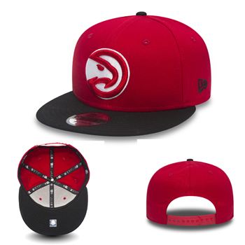 New Era NBA Atlanta Hawks Team 9Fifty Snapback