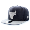 New Era NBA Chicago Bulls Heather 9Fifty Snaback