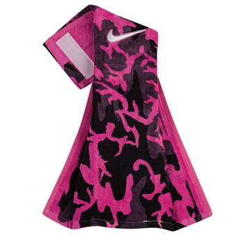 Nike Serviette de Football Rose/Noir
