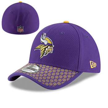 New Era Minnesota Vikings ONF NFL 17 39Thirty Sideline  SL M