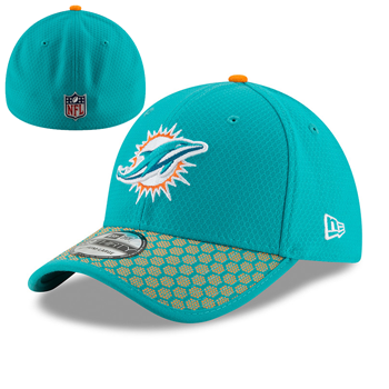 New Era Miami Dolphins ONF NFL 17 39Thirty Sideline M