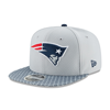 New Era New England Patriots 2017 Sideline OF 9FIFTY Black Snapback