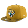 New Era Jacksonville Jaguars 2017 Sideline OF 9FIFTY Snapback doré