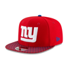 New Era New York Giants 2017 Sideline OF 9FIFTY Snapback rouge
