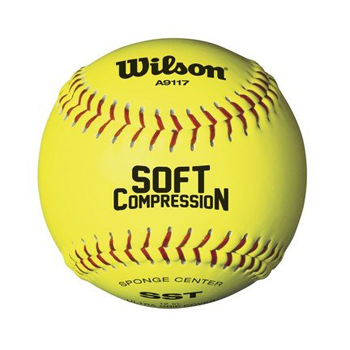 "Wilson WTA9117T Soft Compression 12"" Softball"