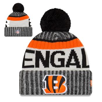 2838d3df822 ... New Era NFL Cincinnati Bengals 2017 Sideline Knit