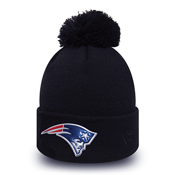 New Era NFL New England Patriots Logo Shine Bobble