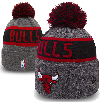 New Era NBA Chicago Bulls Bonnet à revers  Marl Bobble