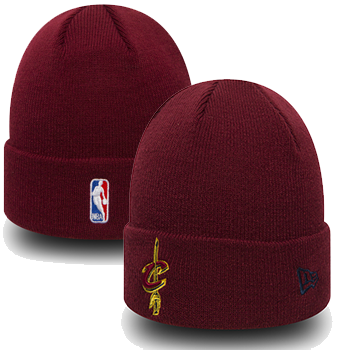 New Era NBA Cleveland Cavaliers Bonnet à revers Essential bordeaux