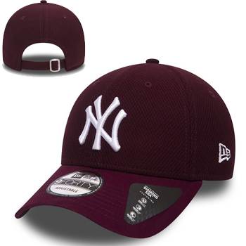 New Era MLB New York  Yankees Diamond Era Essential 9FORTY bordeaux