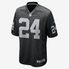 Nike Oakland Raiders Game Jersey (Lynch) Black